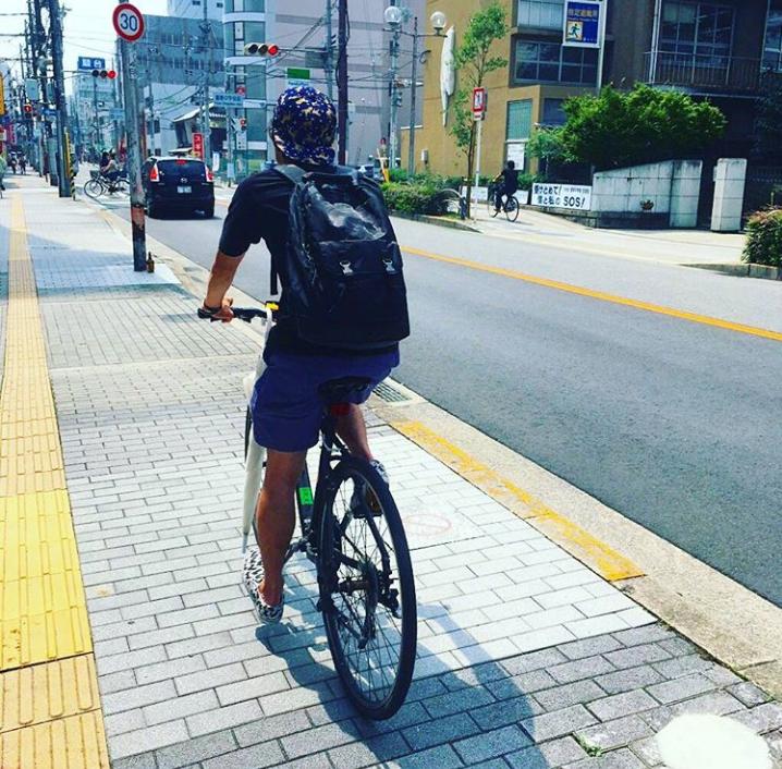 自転車、茨木市、クロスバイク