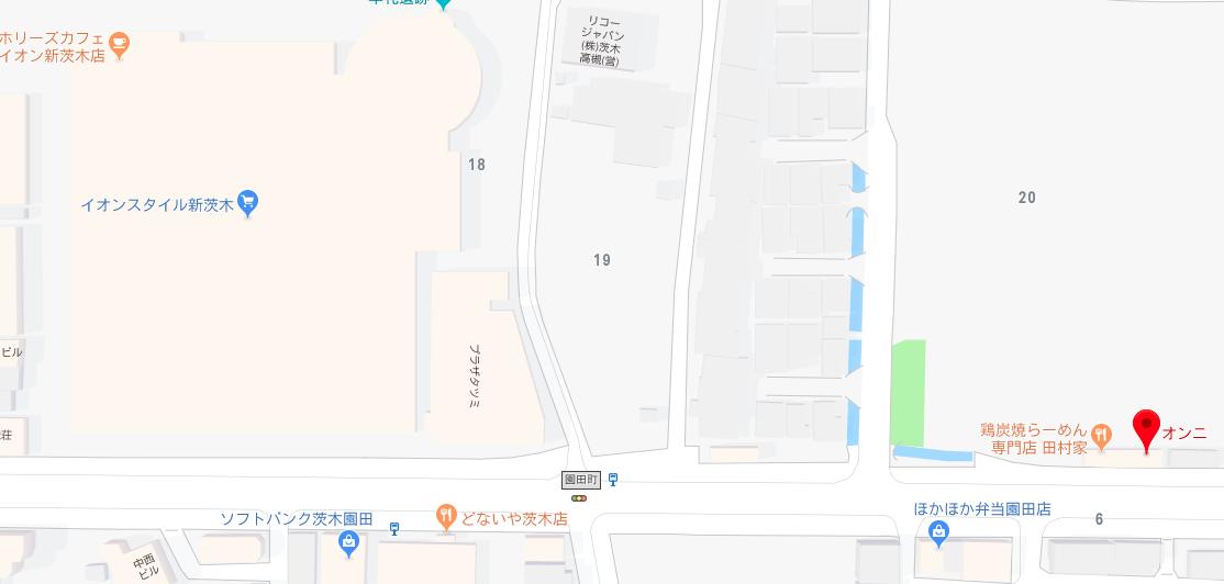 おんに 地図