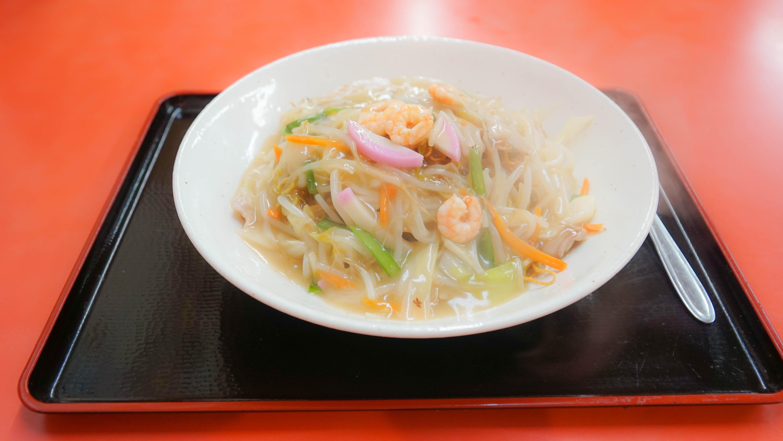 天山 茨木 中華料理 皿うどん